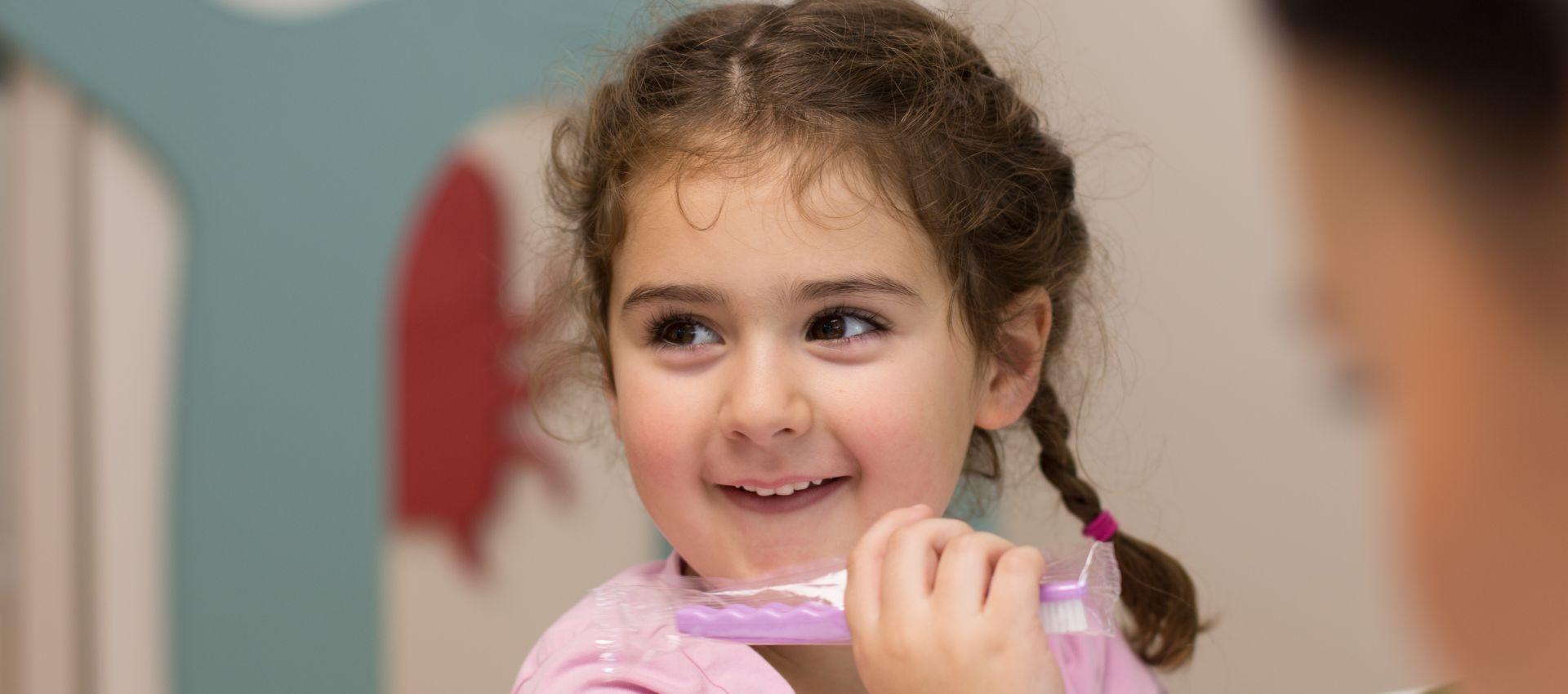 Kinderzahnarzt - Behandlung